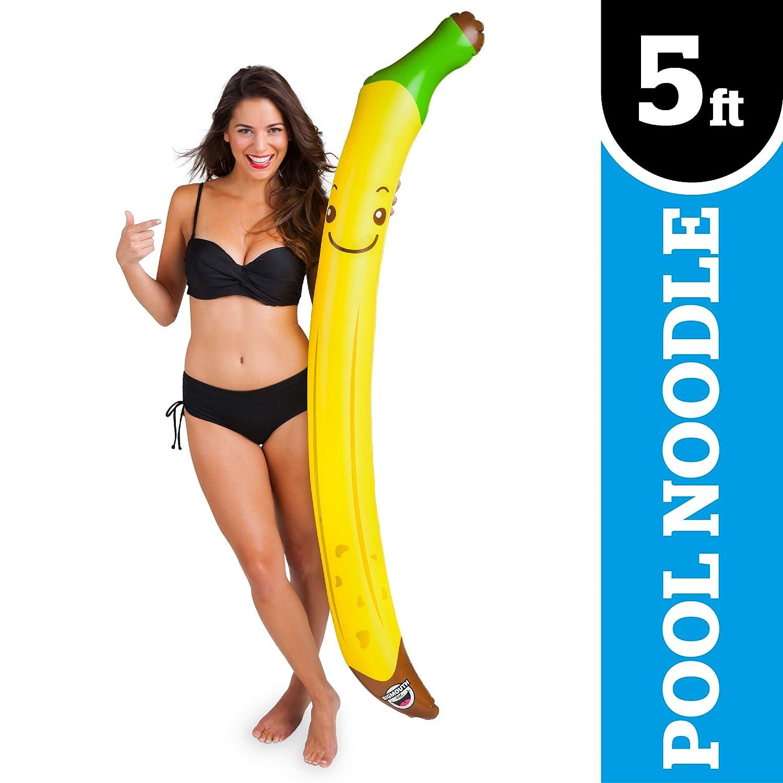 Big Mouth Inc. 0188561000353 - Hinchable Banana Big: Amazon ...