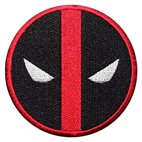 Titan One Europe Tactical Deadpool Logo Icon Patch Parche Bordado T/áctico
