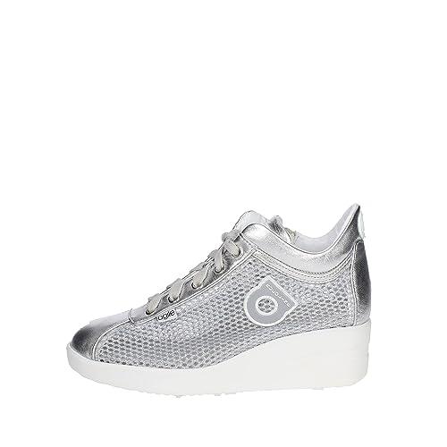 Rucoline 0226-82983 226 Una zapatilla de deporte NETLAM colección de verano 2017 nueva primavera de plata: Amazon.es: Zapatos y complementos
