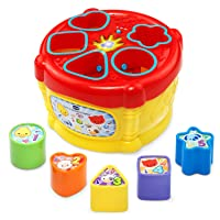 VTech Sort and Discover Drum, Great Gift for Kids, Toddlers, Toy for Boys and Girls...