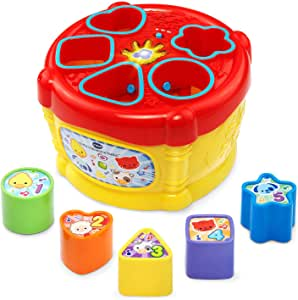 VTech Sort and Discover Drum, Yellow (80-185100)