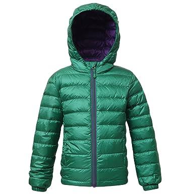 797b0cbfc53d Rokka Rolla Boys  Ultra Lightweight Hooded Packable Puffer Down Jacket