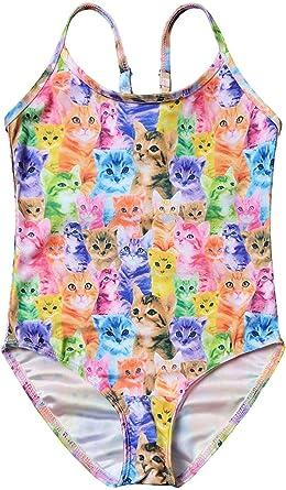 US Stock Kids Baby Girls Swimsuit Toddler Swimwear Swimming Tops+Shorts Outfits