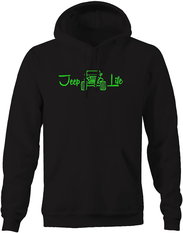Wrangler Lifted Sweatshirt 4x4 Off Road Jeep Life