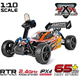 Rraycom HSP 1:10 Scale High Speed 65km/h 4WD Off-Road RC Car 2.4Ghz Remote Control Truck,Radio Controlled Off-Road Racing Car Monster Truck RTR