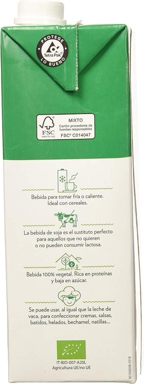 Vegetalia, Bebida de soja - 10 de 1000 ml. (Total 10000 ml.): Amazon.es: Alimentación y bebidas