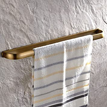 Perfect Leyden Retro Bathroom Accessories Solid Brass Antique Brass Finished Towel  Bar Home Decor Towel Holder Towel