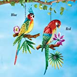 Collections Etc Tropical Colorful Parrot