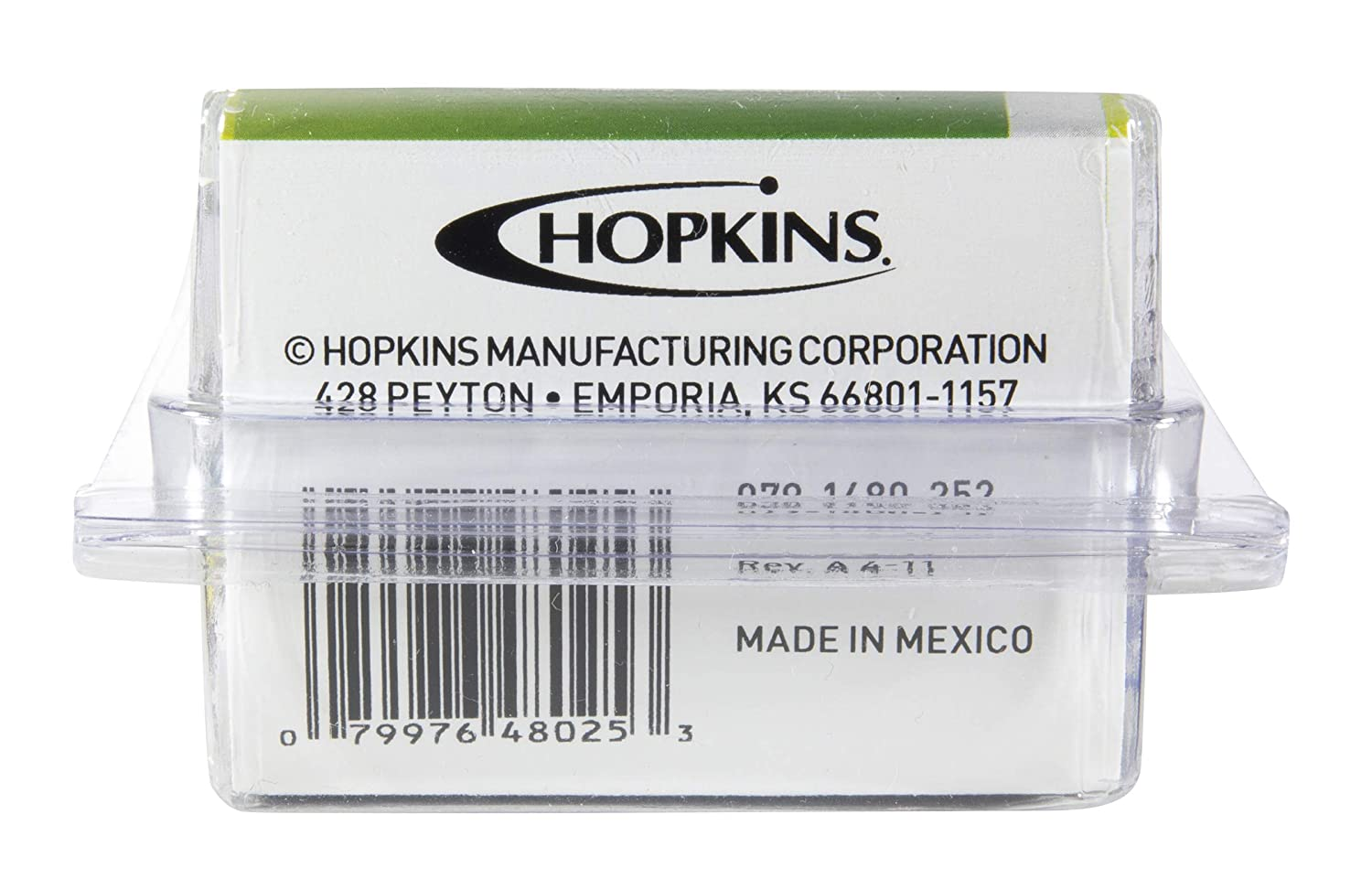 Hopkins 48025 4 Wire Flat Vehicle End Connector with Splice Connectors Hopkins Manufacturing