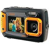 Coleman Duo2 2V9WP-O 20 MP Waterproof Digital Camera with Dual LCD Screen (Orange)