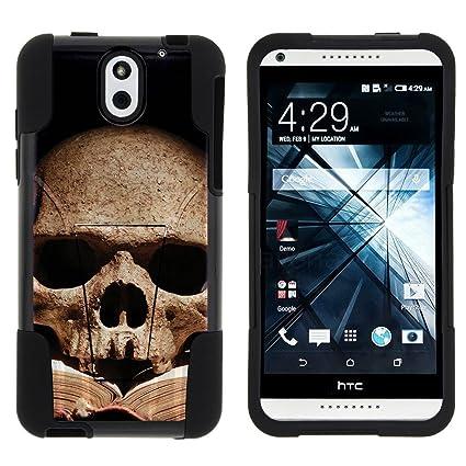 Amazon.com: HTC Desire 610, Fusion, Strike doble capa con ...