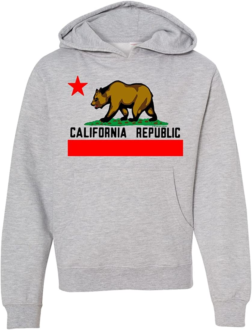 California Republic Lifestyle Premium Youth Sweatshirt Hoodie
