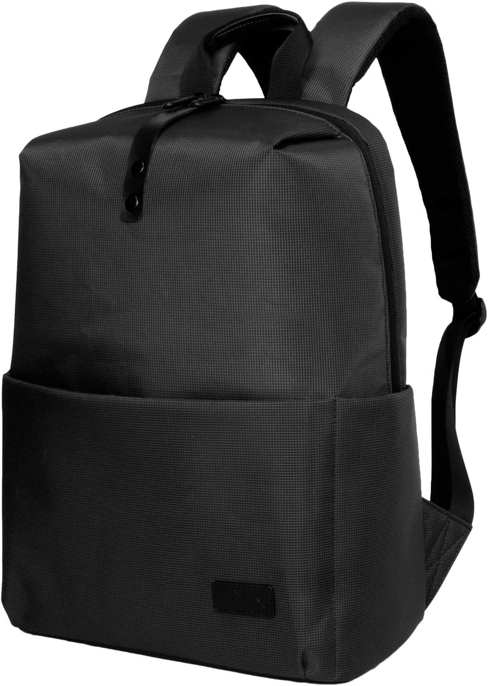 Travel Laptop Backpack Business Backpack Lightweight and Durable Polyester Laptop Backpack for Travel, School Business, 16 Inch Black