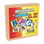 Memória do Alfabeto de a A Z Carlu Brinquedos