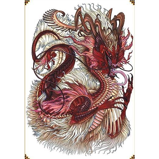 2pcs completos Pegatinas Tatuaje en la Espalda Dazhang Erlang Dios ...