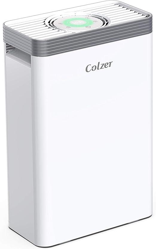COLZER Purificador de aire con verdadero filtro de aire HEPA ...