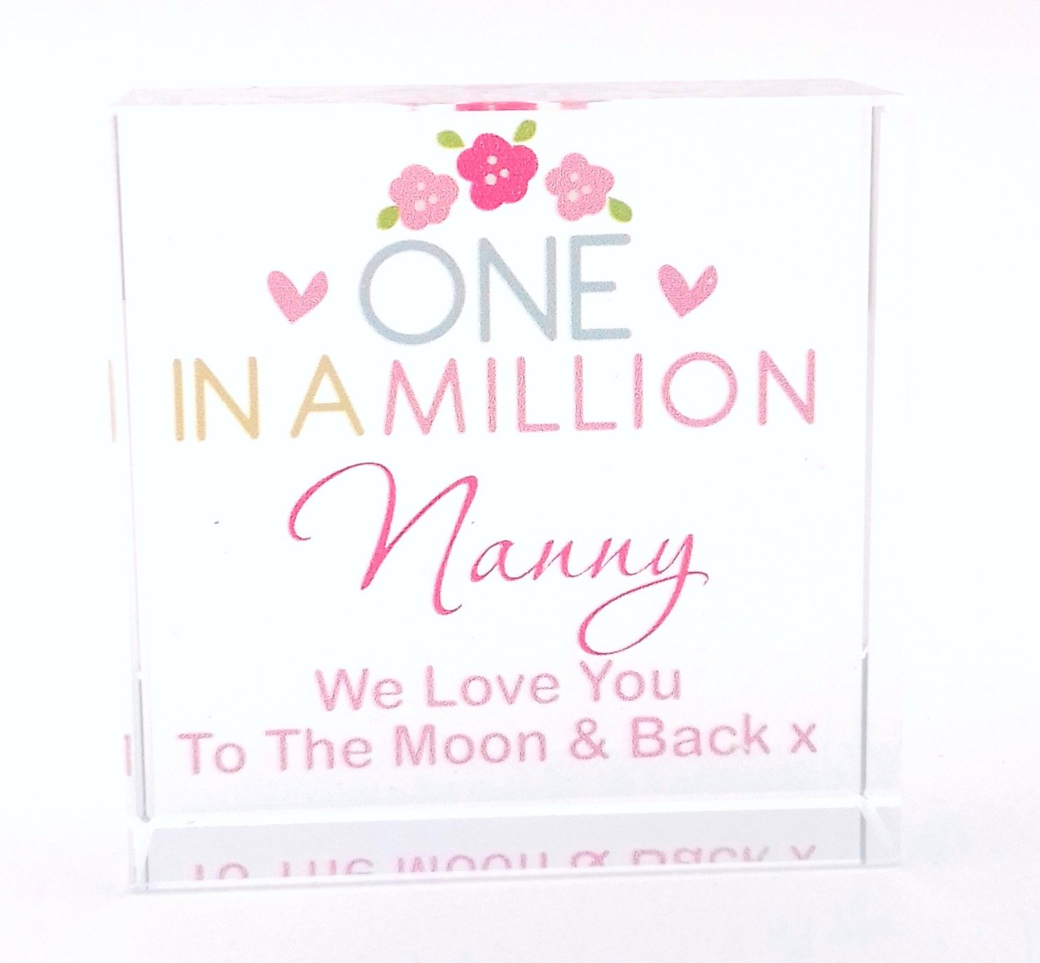 Boxes Home Kitchen Nanny We Love You To The Moon Back Silver Finish Trinket Box Gift Gifts Presents Ideas For Her Birthday Christmas Mothers Day
