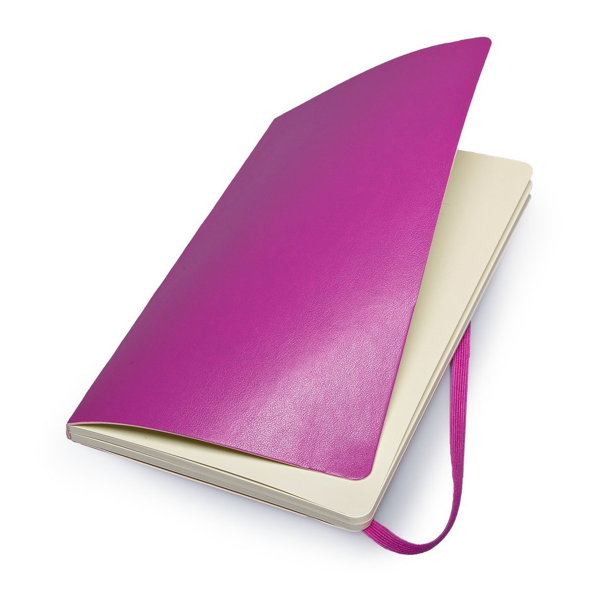 Moleskine Classic Colored Notebook, Large, Plain, Orchid Purple, Soft Cover (5 x 8.25) by Moleskine