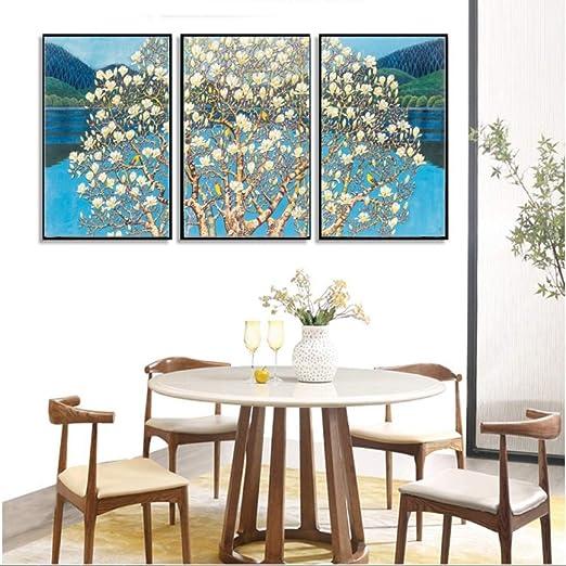adgkitb canvas Nueva Pintura Decorativa China de la Flor de la ...