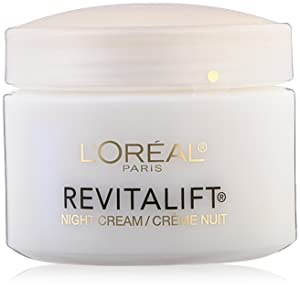 L'Oreal Paris Skin Care Revitalift Anti Wrinkle and Firming Night Cream Bonus Pack, 2.55 Ounce