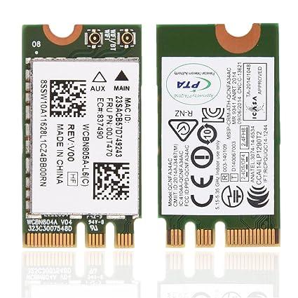 ASHATA 2.4GHz + 5GHz Tarjeta WiFi NGFF / M2,Adaptador de Red ...