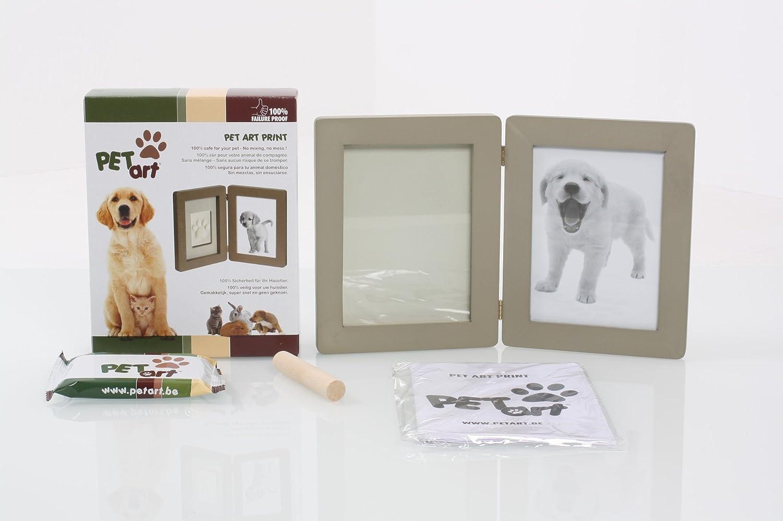 Pet Art 985081 Print Taupe Bilderrahmen für Foto und Pfotenabdruck ...