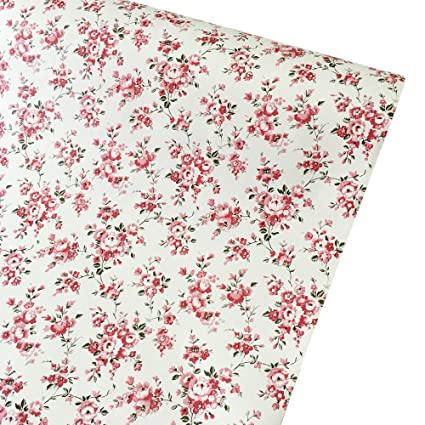 Amazon SimpleLife40U Rural Floral Contact Paper Decorative Self Delectable Contact Paper Decorative Designs