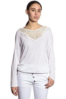 Abbino IG007 Camisetas Tops Camisas Para Mujer - Hecho EN Italia - Colores Variados - Mujeres