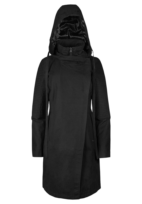 8bb928c0ba43 Amazon.com  Musterbrand Star Wars Women Hooded Coat Sith Lady Black M   Clothing