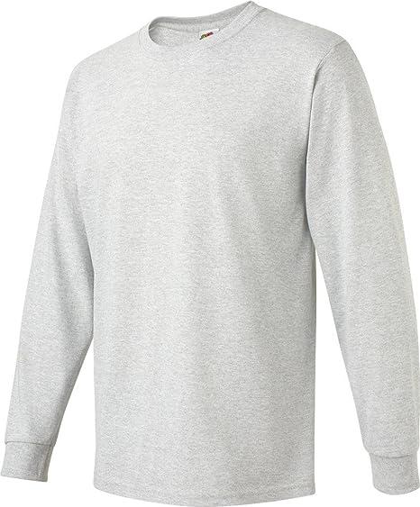 d408e81937ac77 Fruit of the Loom Adult 5 Oz HD Cotton Long-Sleeve T-Shirt - White ...