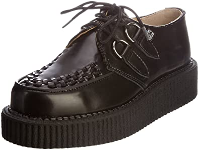 da8567f82f60c Amazon.com | T.U.K. Unisex Interlace Creeper | Oxfords