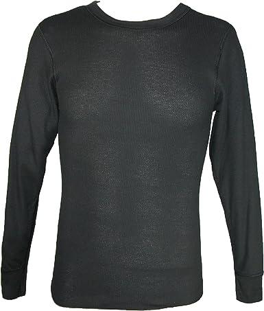 Hanes Camisa de pijama térmica Ultimate x-temp para hombre Mediano Negro: Amazon.es: Ropa y accesorios