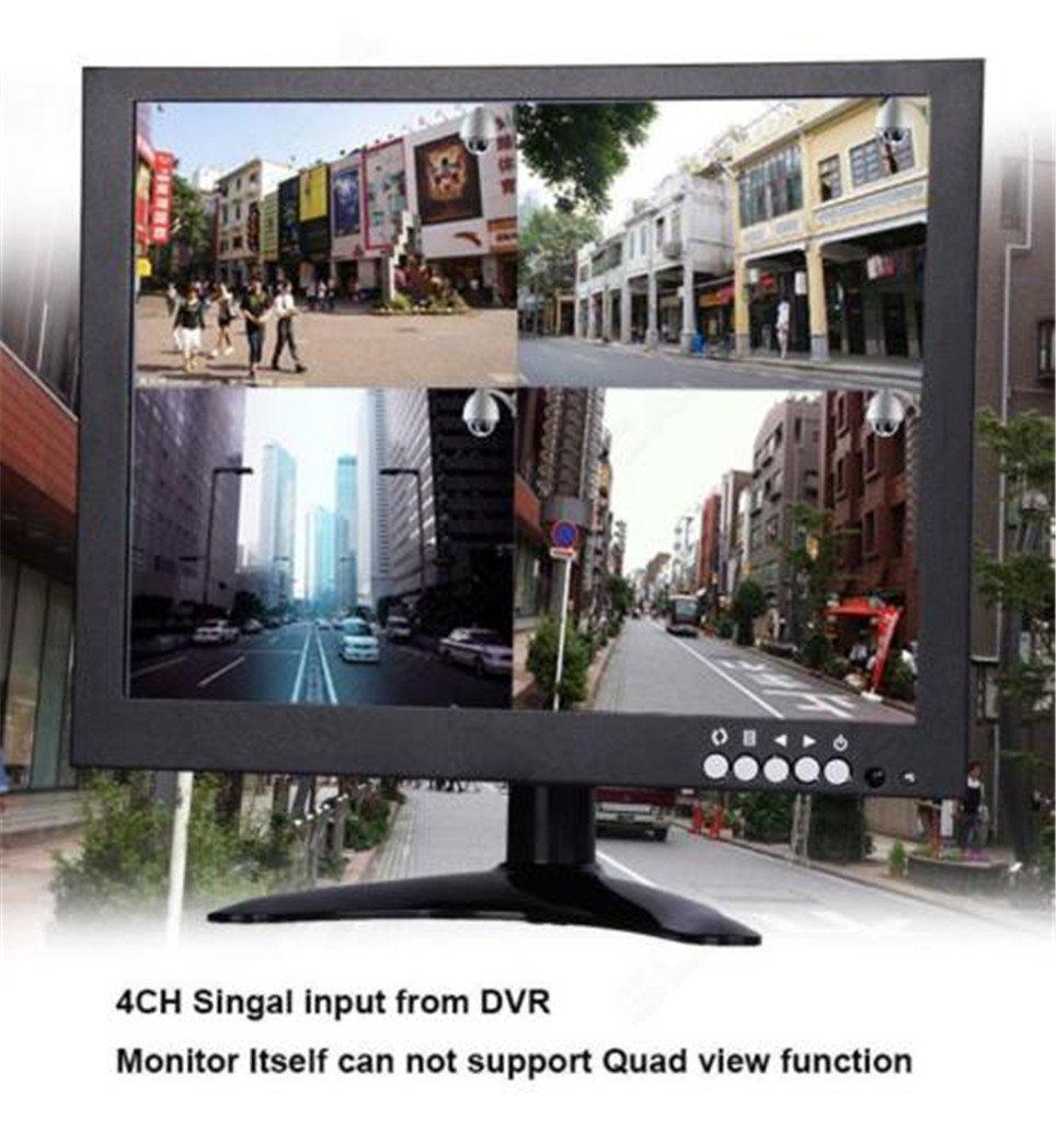 Eyoyo 101 Inch Tft Lcd Color Bnc Hdmi Monitor 1024x768 Camera Video Dvr Dan 10inch 4ch 1080p Hi Resolution Images