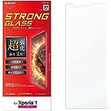 エレコム Xperia 1 ガラスフィルム SO-03L SOV40 Strong GLASS FILM 【高い柔軟性と硬度の超効果加工 強度2倍】