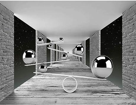100/% FABRICADO EN ALEMANIA 9154010c Papel Pintado Fotogr/áfico Esfera 3D 308 x 220 cm Tipo Fleece no-trenzado Sal/ón Dormitorio Despacho Pasillo Decoraci/ón murales decoraci/ón de paredes moderna