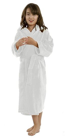 Amazon.com  Custom Embroidered Hooded Kids Robe b47a3b0f4