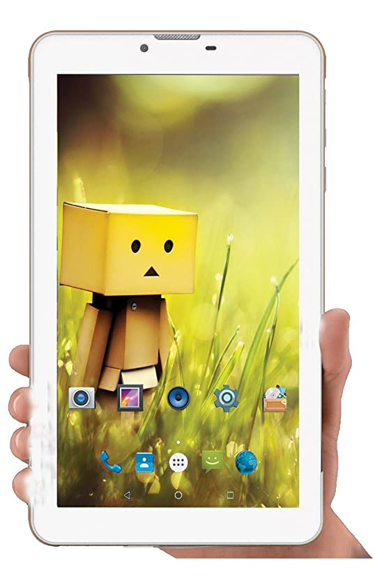 I KALL N4(1+8GB) Dual Sim 4G Calling Tablet with MP3/FM Player Neckband- White Tablets at amazon