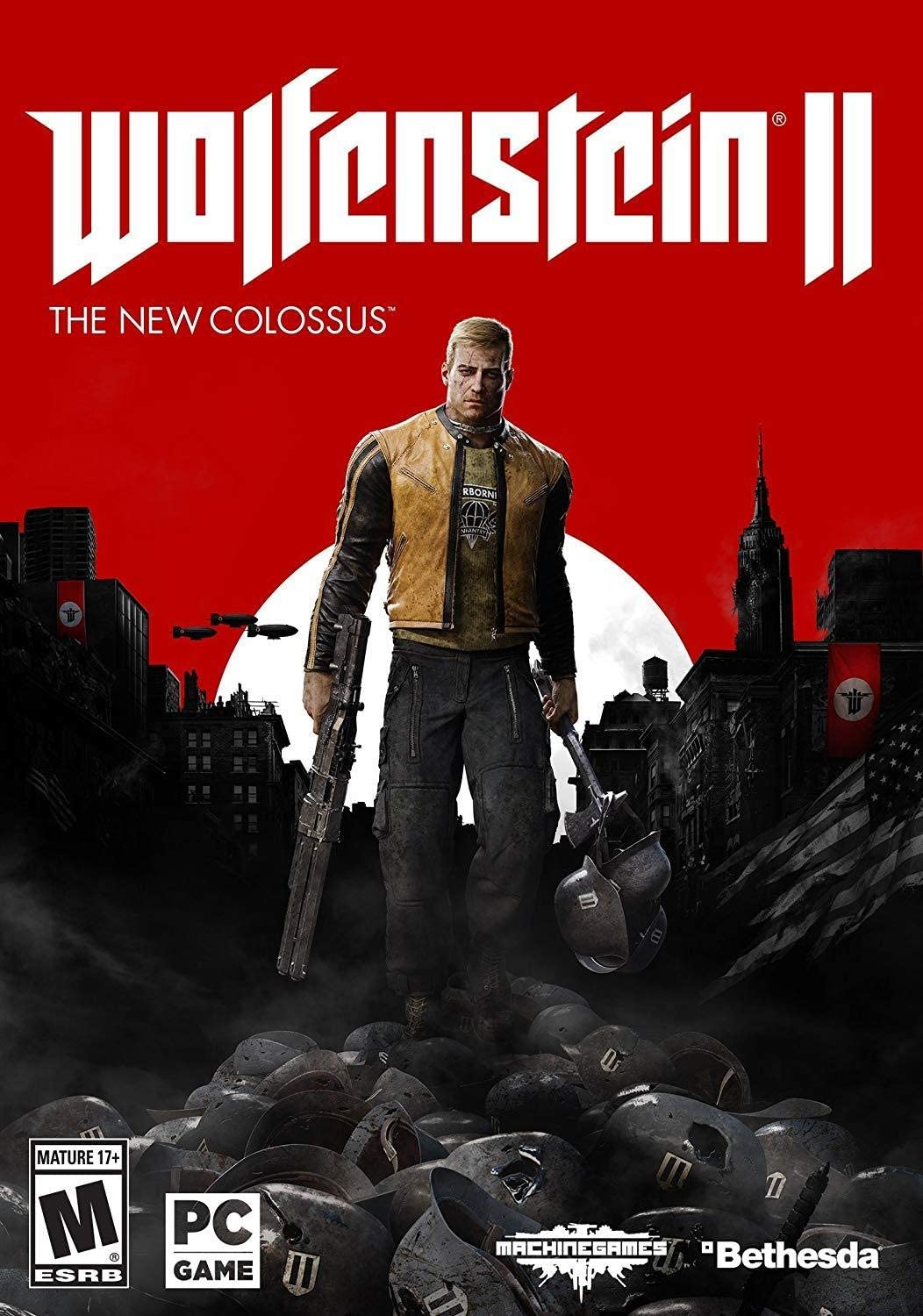 Amazon com: Wolfenstein II: The New Colossus - PC [video