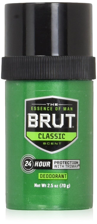 BRUT Deodorant Stick Original Fragrance 2.50 oz (Pack of 8)