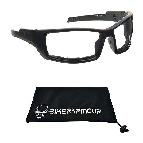 Amazon.com: 1 par de gafas de sol de moto de transición ...