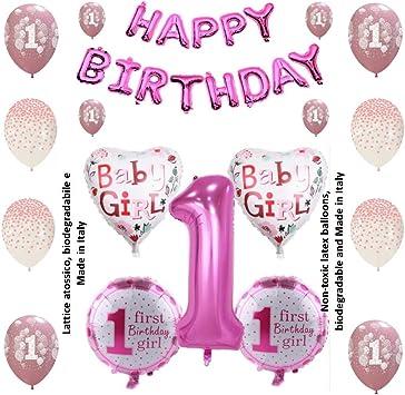 Shopama Decoration Ballons 1 Premier Anniversaire 1 An