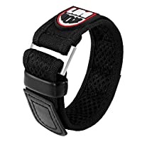 Genuine Luminox Replacement Band/Carbon Strap for Navy Seals Series 3000, 3900-23 mm Black