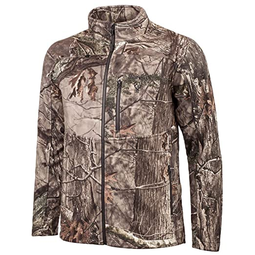 e987ee3094beb Amazon.com : Huntworth Men's Mid Weight Bonded Hunting Jacket : Clothing
