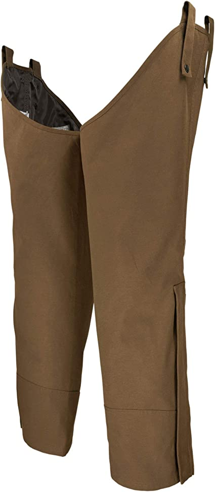 Boyt Waxed Cotton Upland Chaps Brown