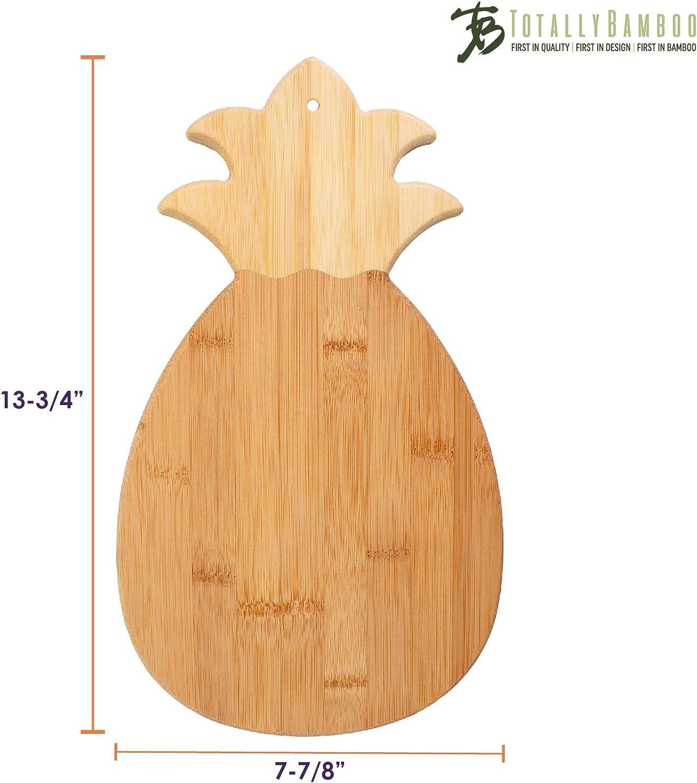 Totalmente de bambú de corte y tabla para servir de caballito de mar, bambú, Gama piña, talla única