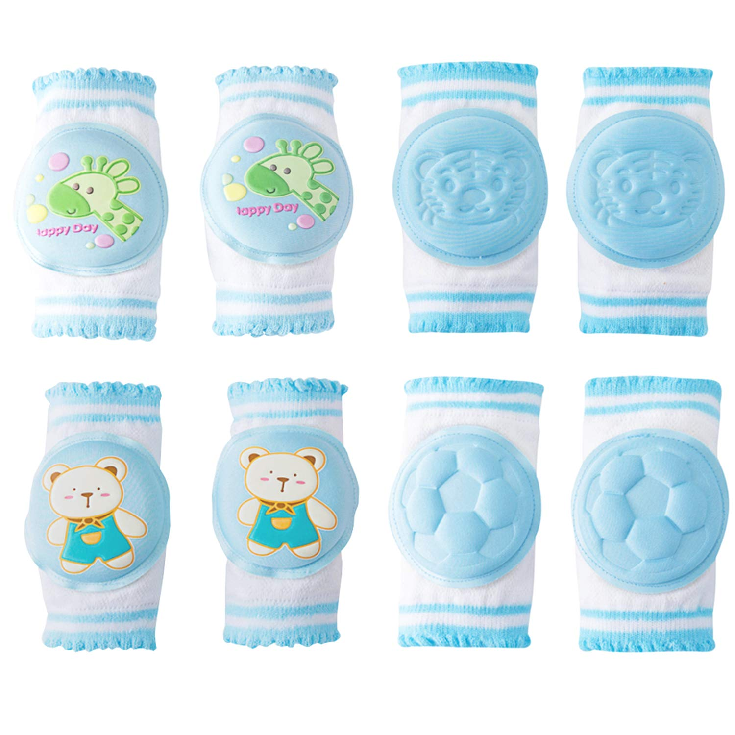 Baby Knee Pads, Oukinakinn Walking Kneepads for crawling Memory Foam Pad Cushion KMMall