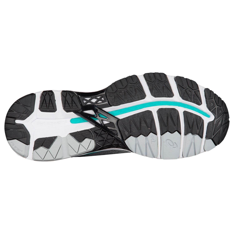 ASICS Women's Gel-Kayano 24 Running Shoe, Mid Grey/Black/Atlantis, 9 Medium US by All Volleyball, Inc.