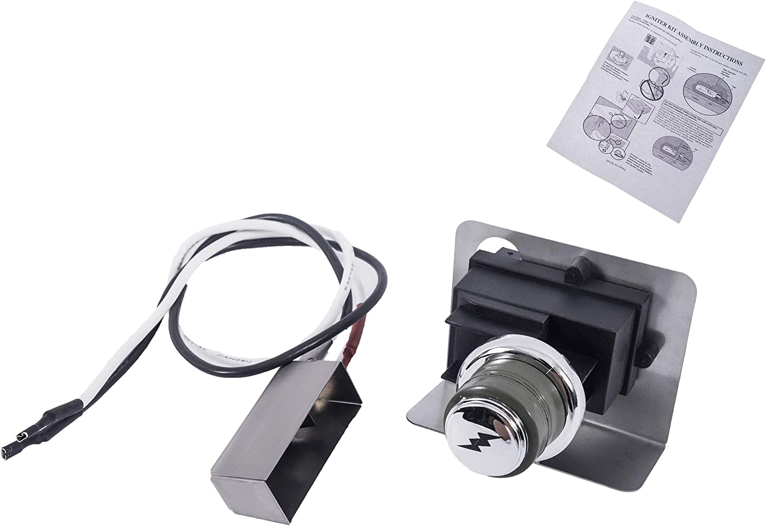 Igniter Button Replacement for Weber Spirit Grills with Front Mount Control Knob