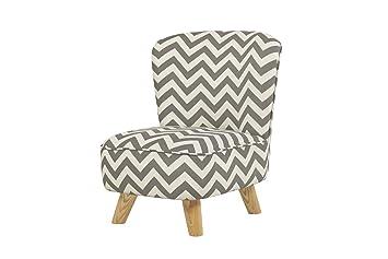 Babyletto Pop Mini Chevron Chair, Grey