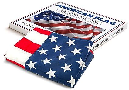 42d617f76dd1 Amazon.com   High Supply American Flag US Flag - 100% Made in USA ...